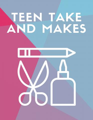 Teen Take & Make Banner